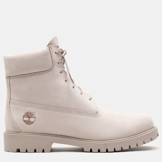 Premium 6 Inch Heritage Boot for Men in Beige | Timberland