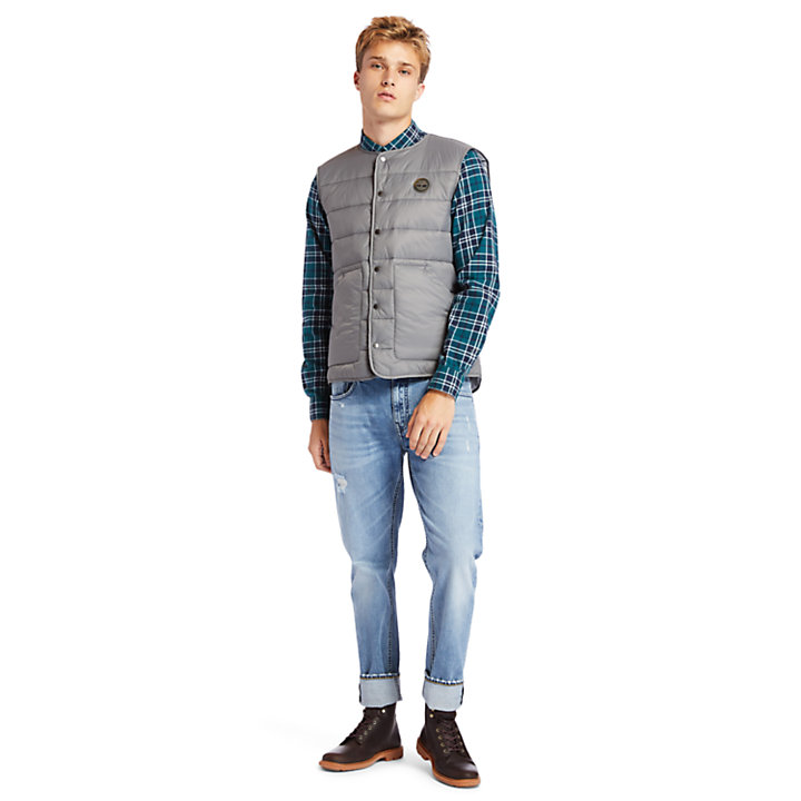 Mount Redington CLS Quilted Gilet for Men in Grey-