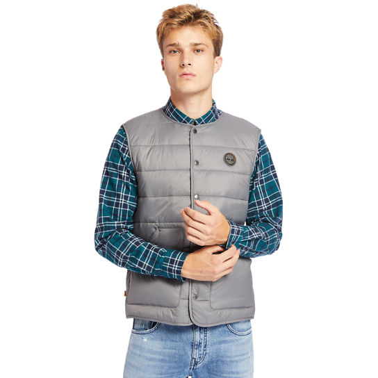 Mount Redington CLS Quilted Gilet for Men in Grey | Timberland