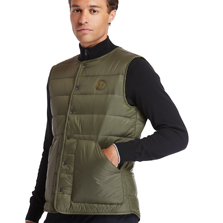 Mount Redington CLS Quilted Gilet for Men in Green-