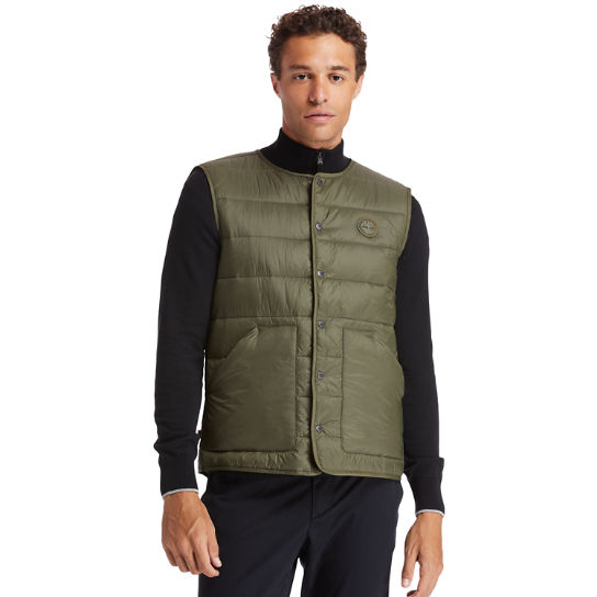Mount Redington CLS Quilted Gilet for Men in Green | Timberland