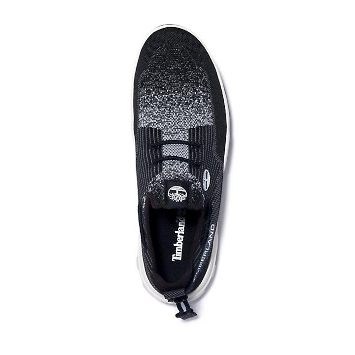 Urban Exit Boat Sneaker for Men in Black-
