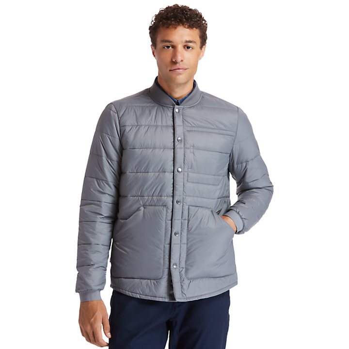 Mount Redington Bomber Jacket for Men in Grey-