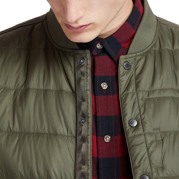 Mount Redington Bomber Jacket for Men in Green-