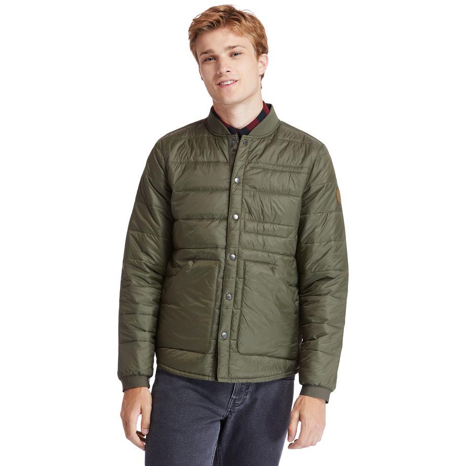 Timberland Mount Redington Bomber Jacket For Men In Green Green, Size XL