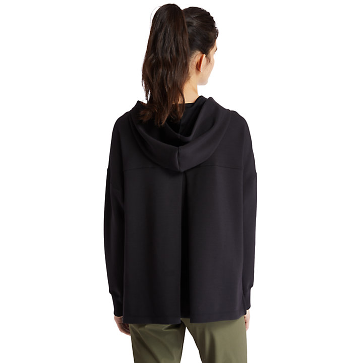 Soft Hoodie for Women in Black-