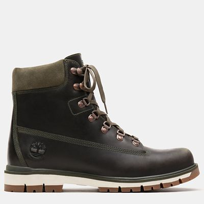 Radford+6+Inch+D-Rings+Boot+for+Men+in+Dark+Green