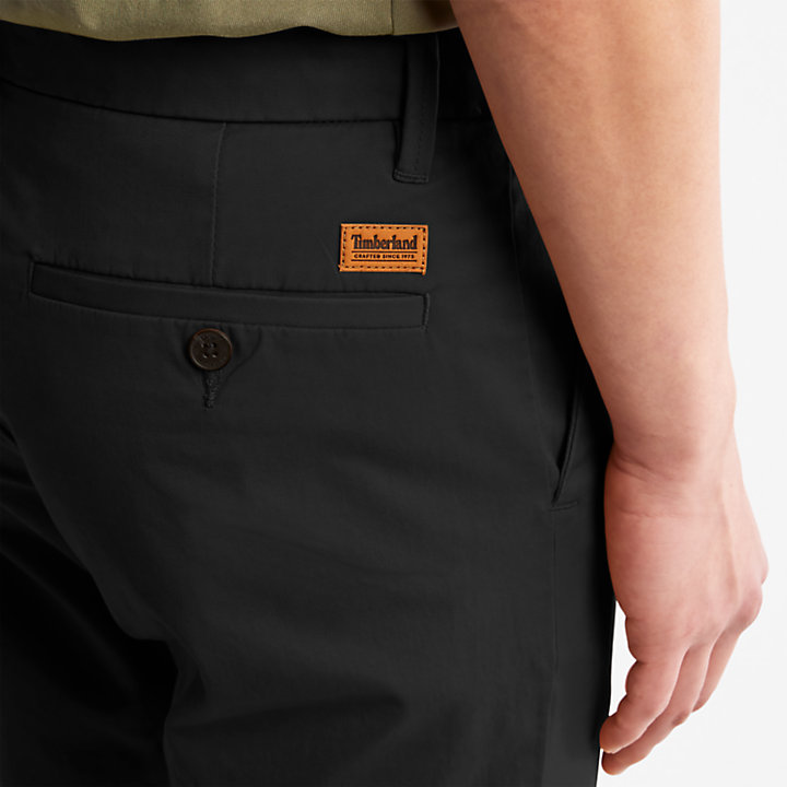 Sargent Lake Chinos for Men in Black-
