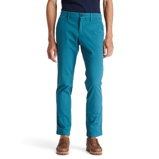 Chino Sargent Lake pour homme en bleu sarcelle | Timberland