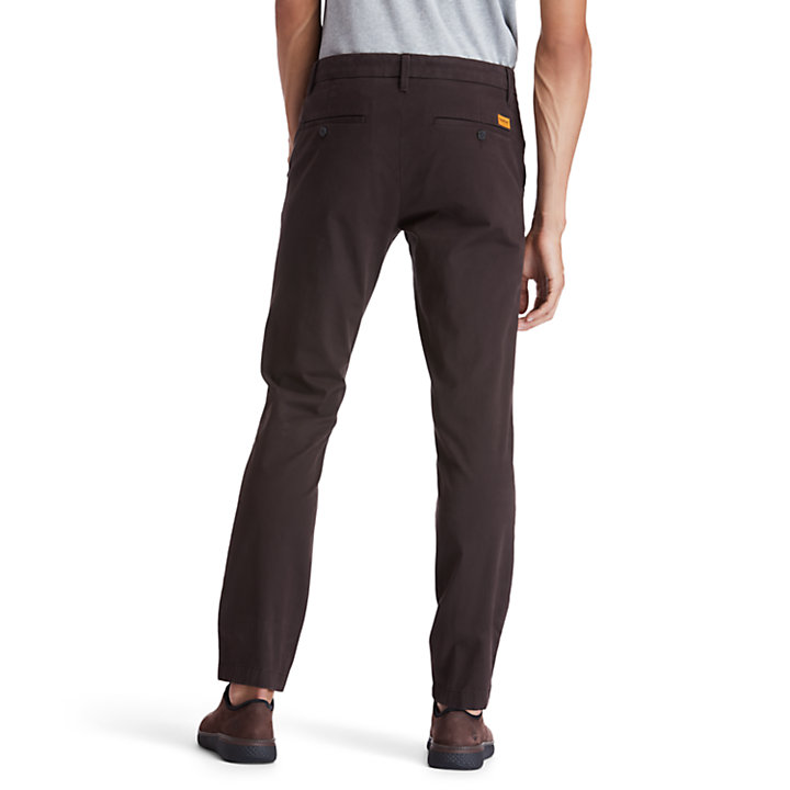 Sargent Lake Chinos for Men in Dark Brown-