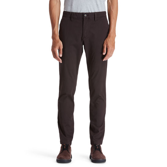 Sargent Lake Chinos for Men in Dark Brown | Timberland