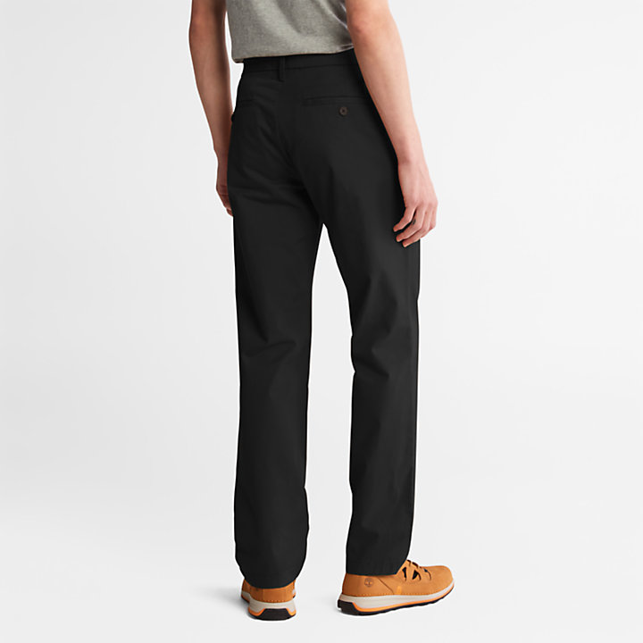 Chino de Sarga Squam Lake para Hombre en color negro-
