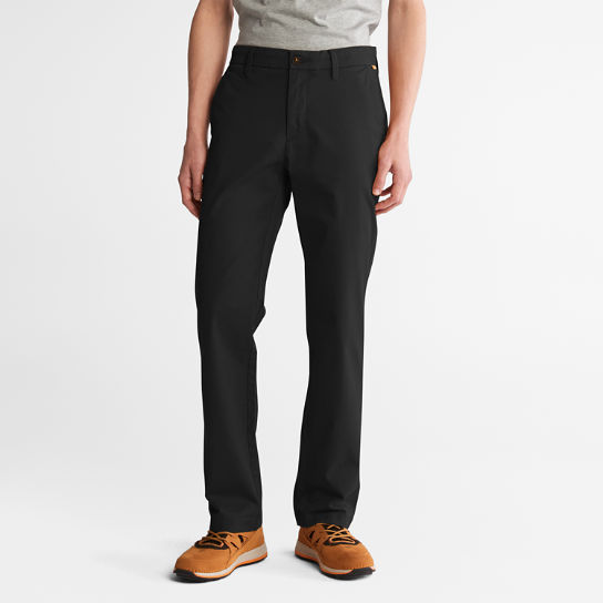 Pantaloni Chino da Uomo in Twill Squam Lake in colore nero | Timberland