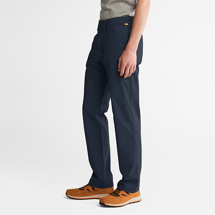 Squam Lake Twill Chino Pants for Men in Navy-