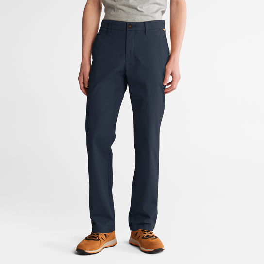 Squam Lake Twill Chino Pants for Men in Navy | Timberland