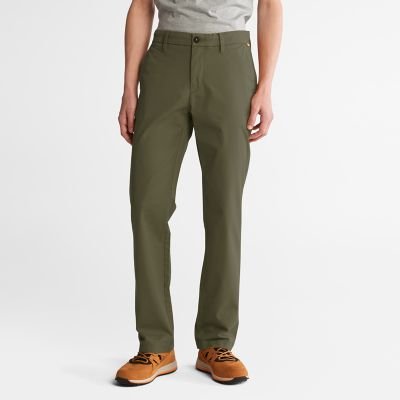 Squam+Lake+Twill+Chino+Pants+for+Men+in+Green
