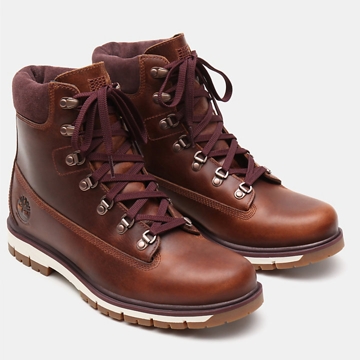 Radford 6 Inch D-Rings Boot for Men in Rust-