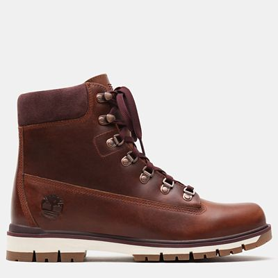 Radford+6+Inch+D-Rings+Boot+for+Men+in+Rust
