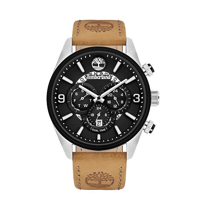 Ellswood Armbanduhr für Herren in Schwarz/Beige-