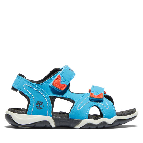 Adventure Seeker 2-Strap Sandal for Toddler in Blue | Timberland