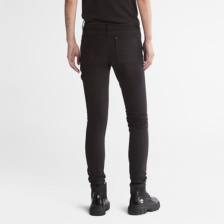 Pantalon super skinny pour femme en noir-