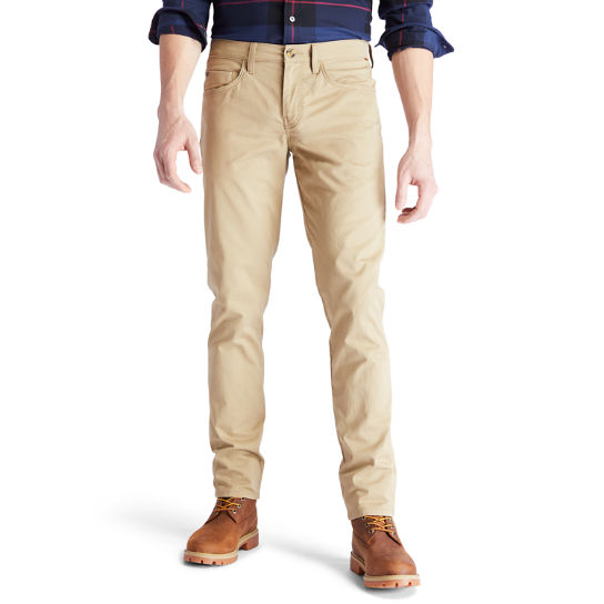 Sargent Lake Twill Trousers for Men in Khaki | Timberland