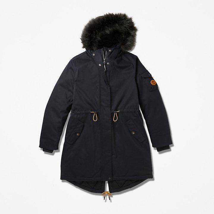 Parka con forro polar Mount Kelsey para Mujer en color negro-