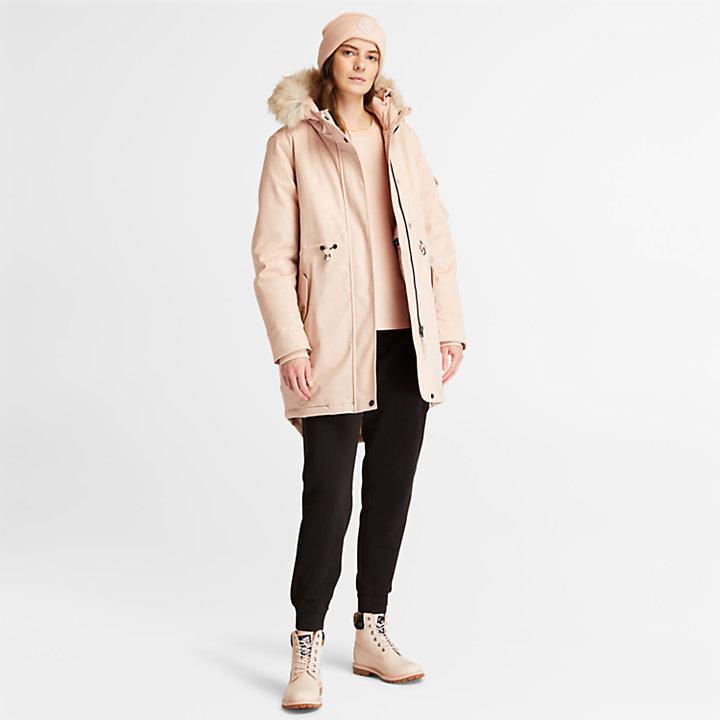 Parka con forro polar Mount Kelsey para Mujer en rosa-