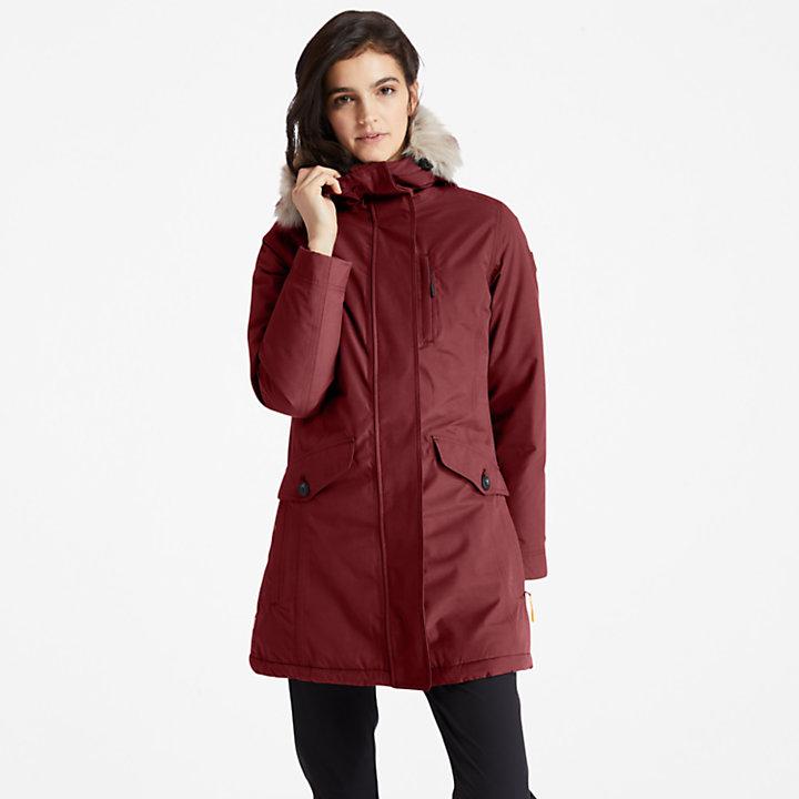 Waterproof Parka for Women in Brown-