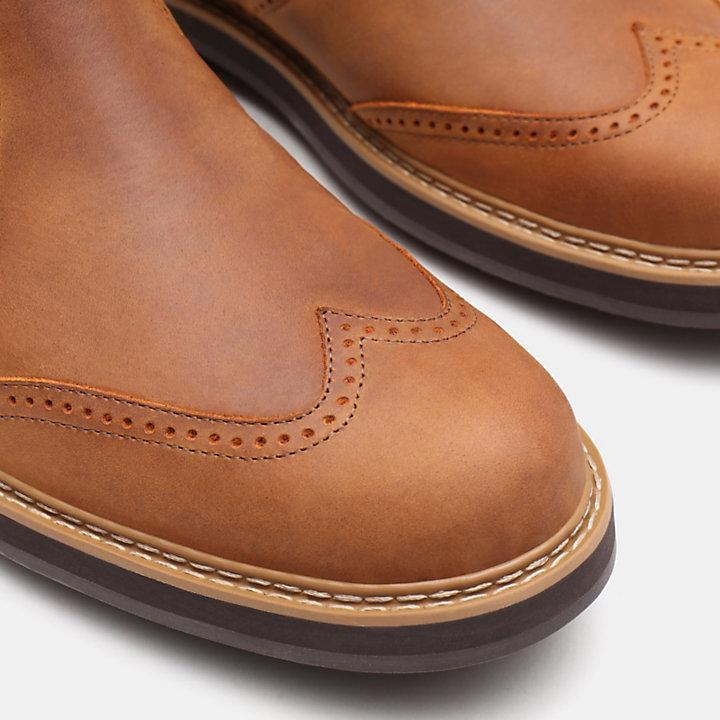 Bottine Chelsea Squall Canyon pour homme en marron clair-