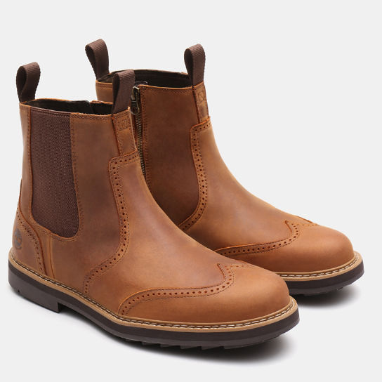 Squall Canyon Chelsea Boot for Men in Light Brown | Timberland