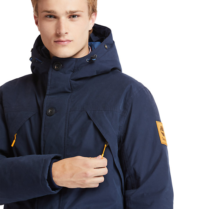 Scar Ridge Down-free Parka for Men in Navy-