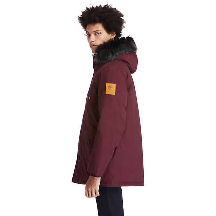 Scar Ridge Down-free Parka for Men in Red-