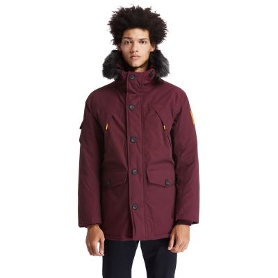 Scar+Ridge+Down-free+Parka+for+Men+in+Red