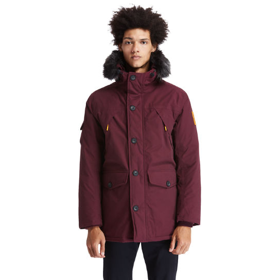 Scar Ridge Down-free Parka for Men in Red | Timberland