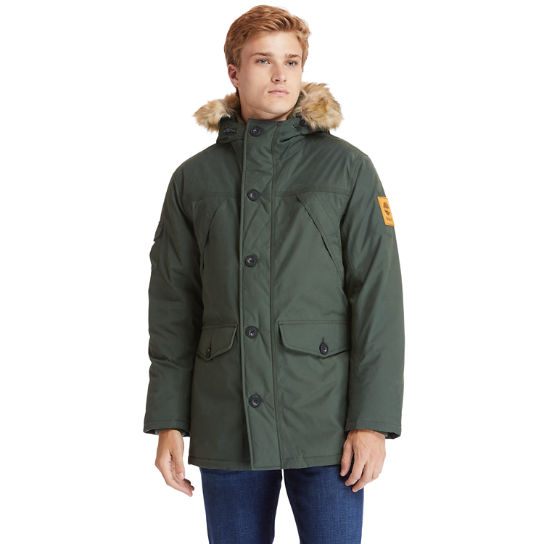 Scar Ridge Down-free Parka for Men in Green | Timberland