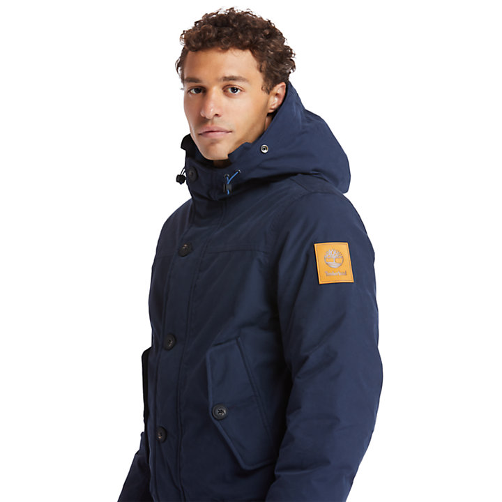 Scar Ridge Snorkel Parka for Men in Navy-