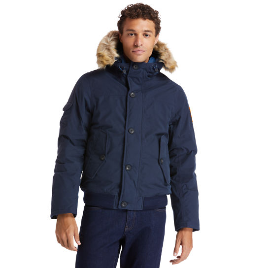 Scar Ridge Snorkel Parka for Men in Navy | Timberland