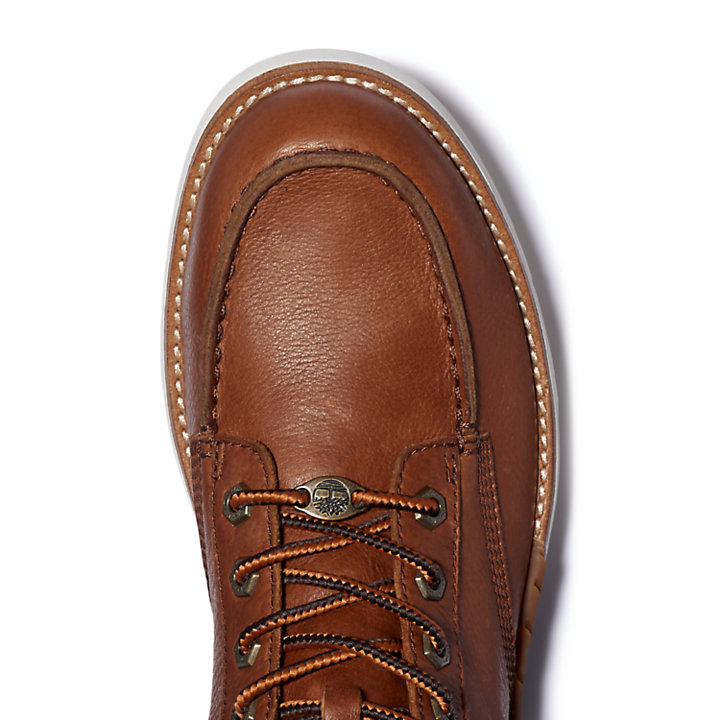 MTCR Mocassin Toe Boot for Men in Brown-