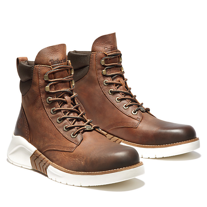 M.T.C.R. Moc-toe Boot for Men in Brown-