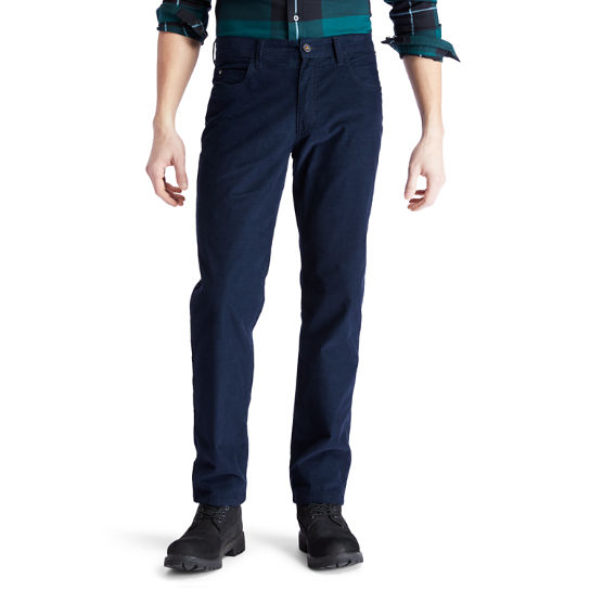 Squam Lake Corduroy Trousers for Men in Navy | Timberland