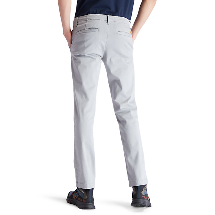 Sargent Lake Ultra Stretch Chinos for Men in Grey-