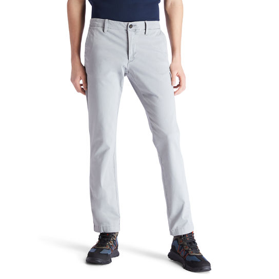 Sargent Lake Ultra Stretch Chinos for Men in Grey | Timberland