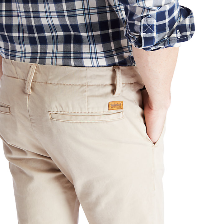 Sargent Lake Ultra Stretch Chinos for Men in Beige-