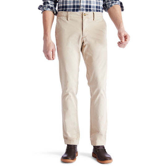 Sargent Lake Ultra Stretch Chinos for Men in Beige | Timberland
