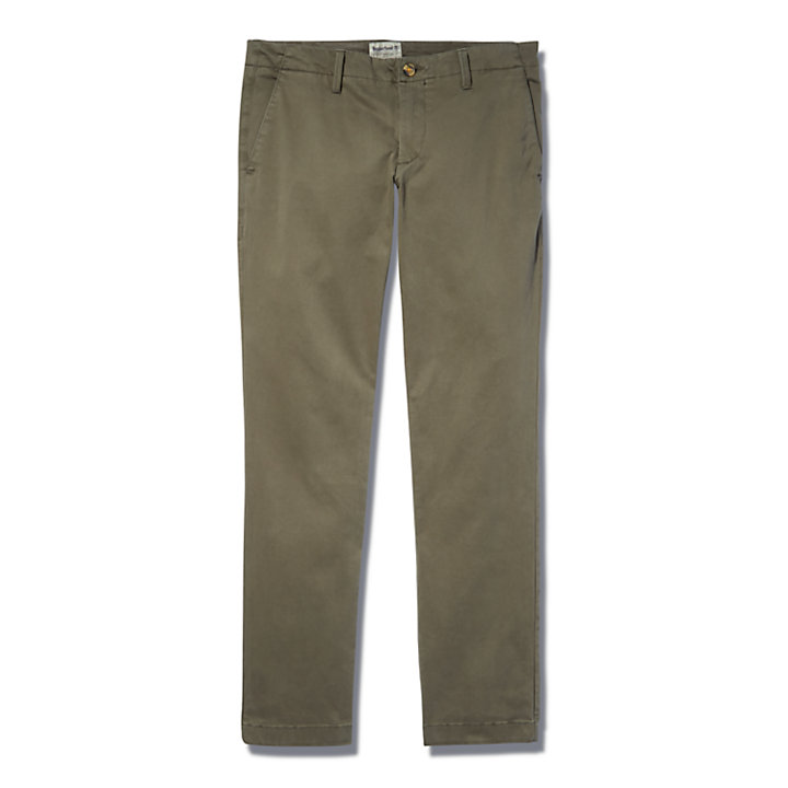 Chino ultra-stretch Sargent Lake pour homme en vert-
