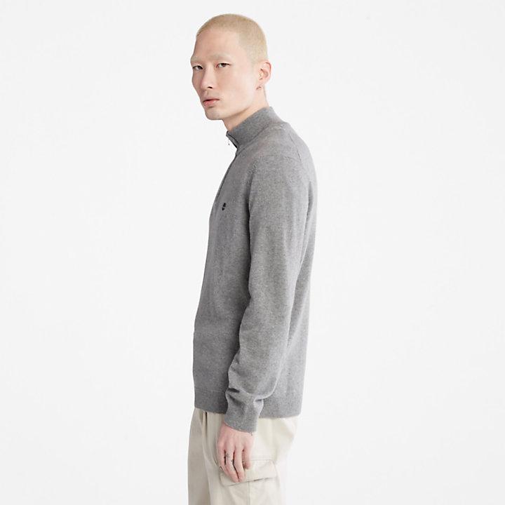 Phillips Brook Lambswool Sweater for Men in Grey-