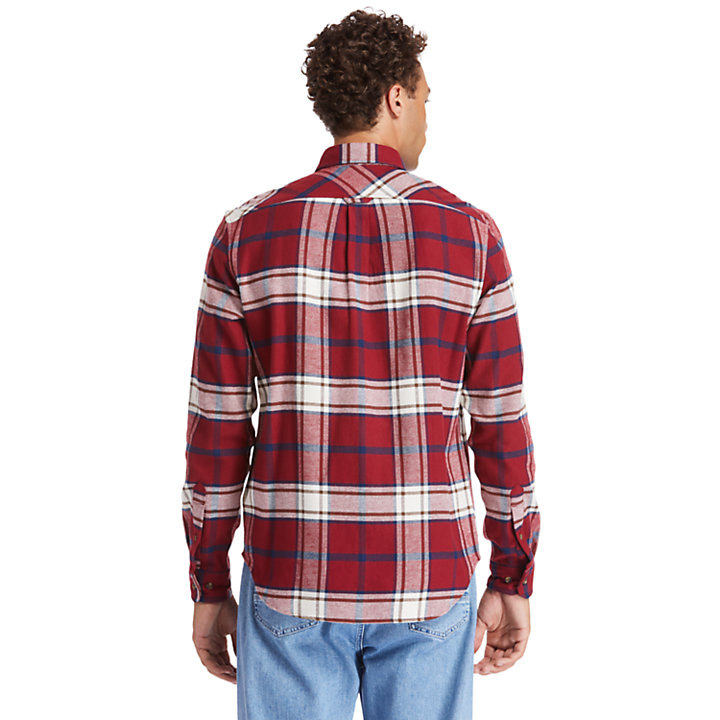 Camisa Back River para Hombre en rojo-