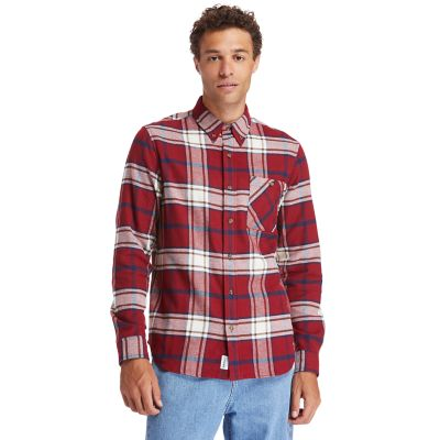 Back+River+Heavy+Flannel+Shirt+for+Men+in+Red