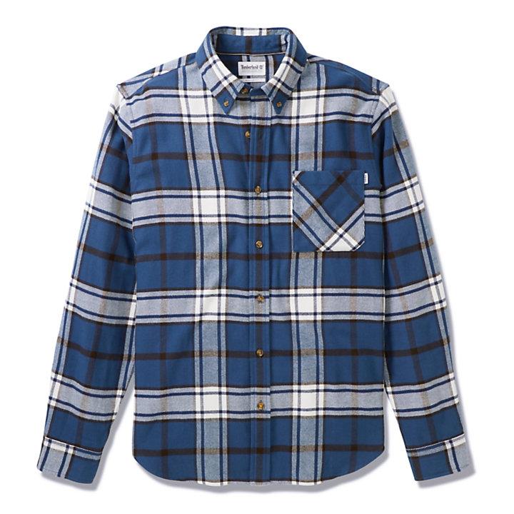 Camisa Back River para Hombre en azul-